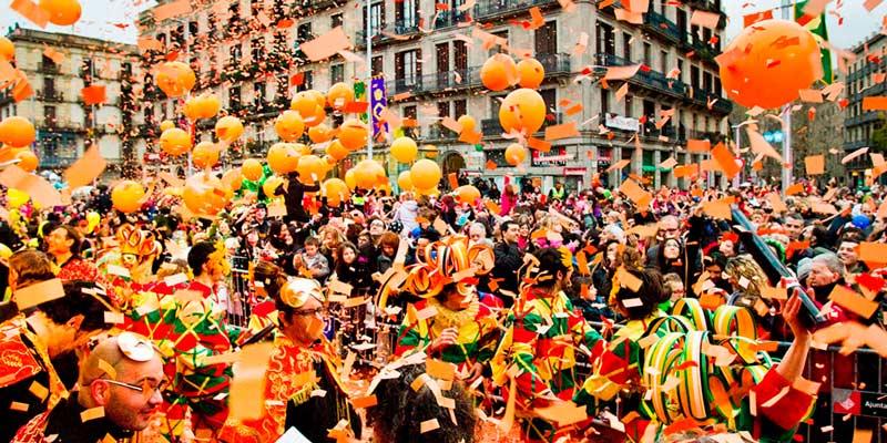 carnaval no mundo - Barcelona
