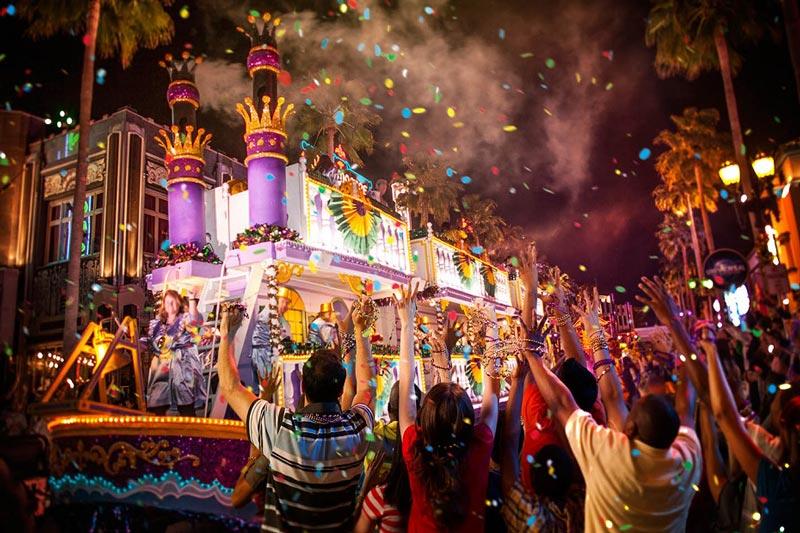 carnaval no mundo - Nova Orleans
