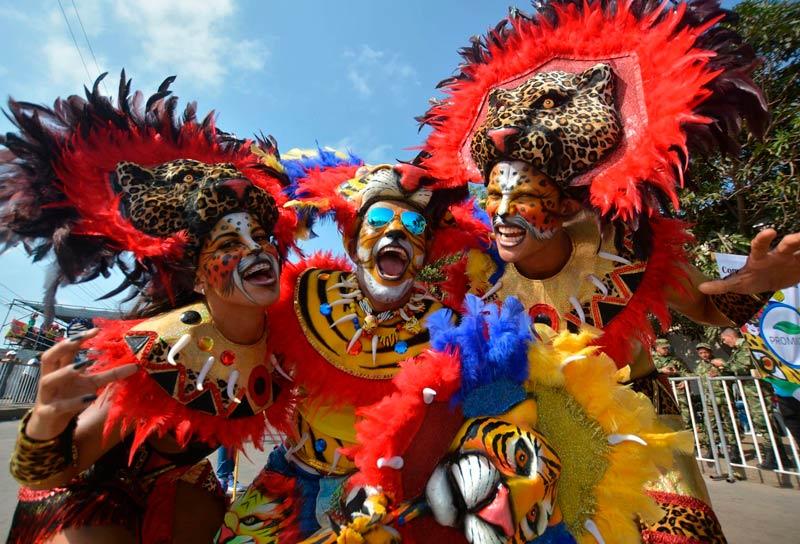 carnaval no mundo - Bogotá