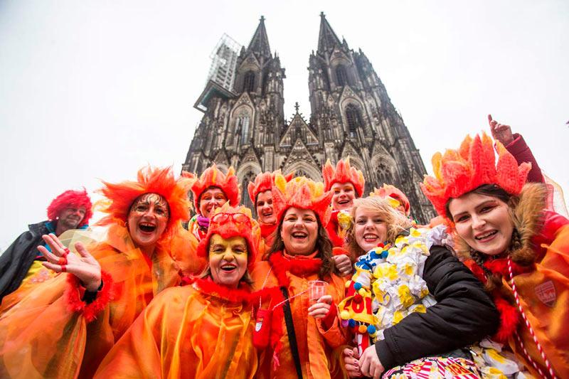 carnaval no mundo - Colônia