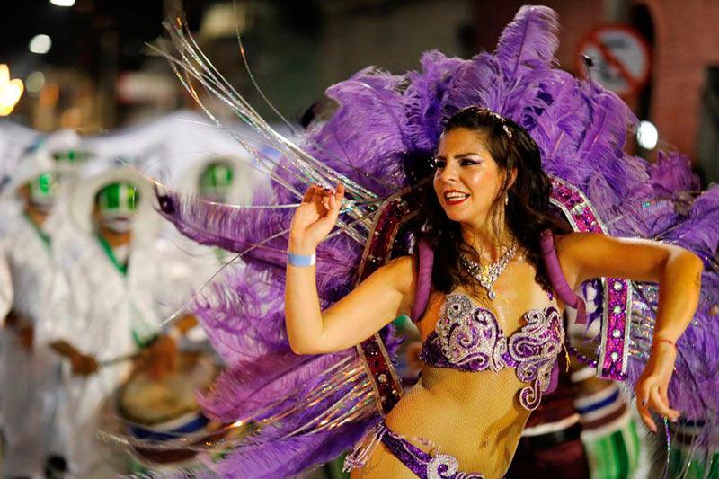 carnaval no mundo - Montevideo