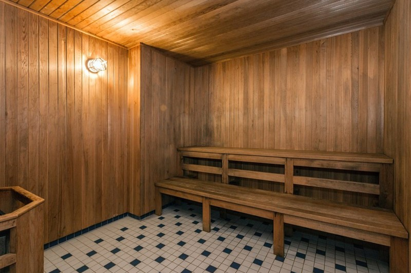 Harrington Housing - sauna