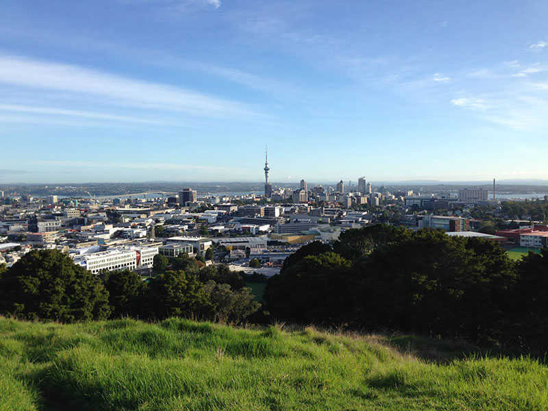 estudar e trabalhar na Nova Zelândia - Auckland