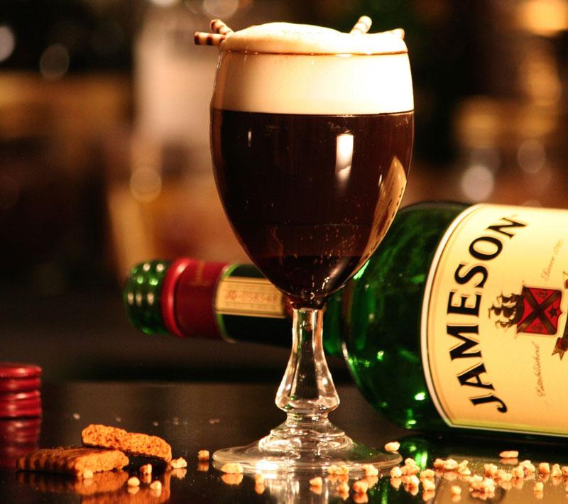 os melhores cafés do mundo - café irlandês