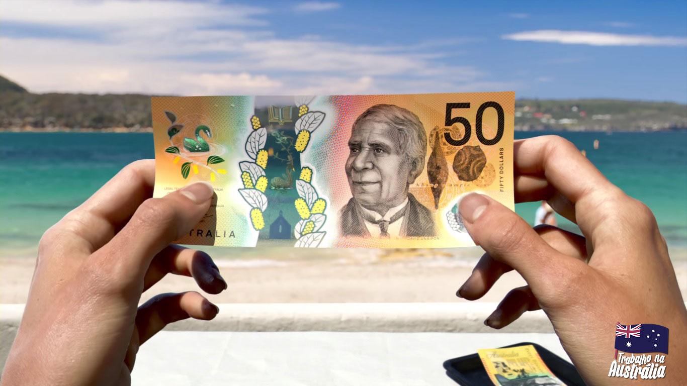 estudar e trabalhar na australia o que saber - salário