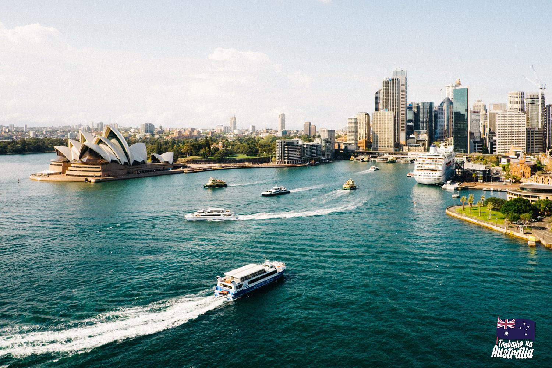 estudar e trabalhar na australia o que saber - destino ideal