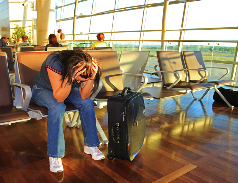 Situações irritantes aeroporto - 04