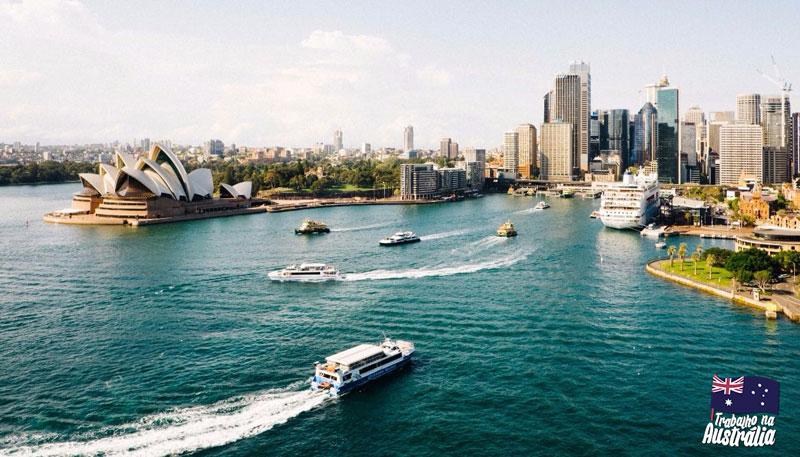 a melhor cidade da austrália para fazer intercâmbio - Sydney