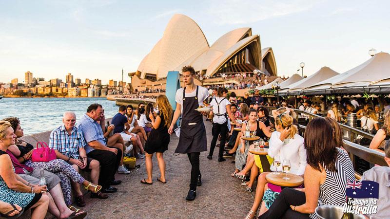 a melhor cidade da austrália para fazer intercâmbio - atrações de Sydney