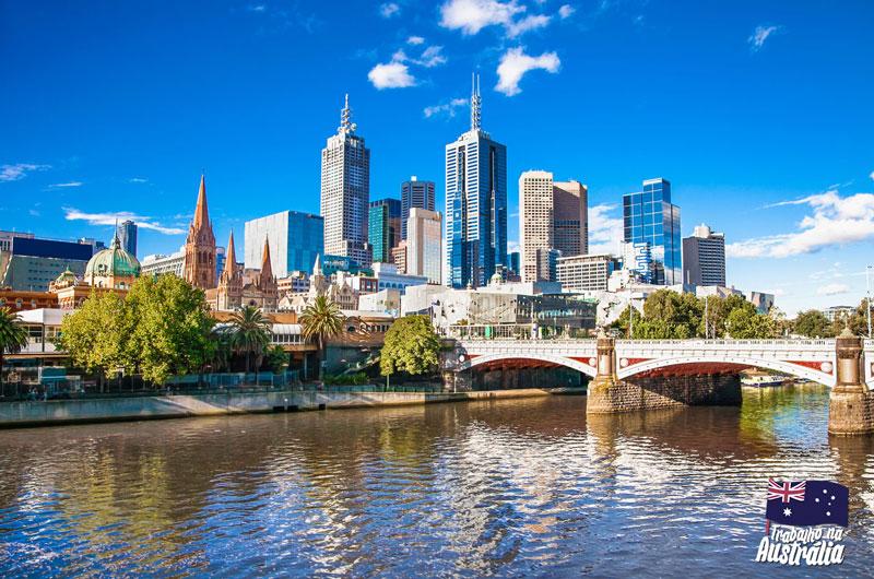 a melhor cidade da austrália para fazer intercâmbio - Melbourne