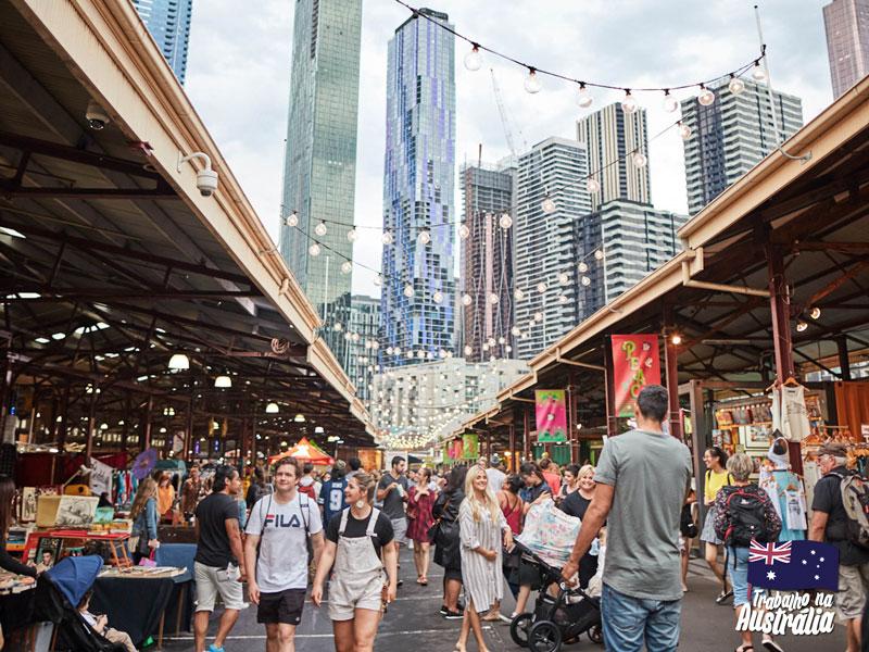 a melhor cidade da austrália para fazer intercâmbio - Melbourne 02
