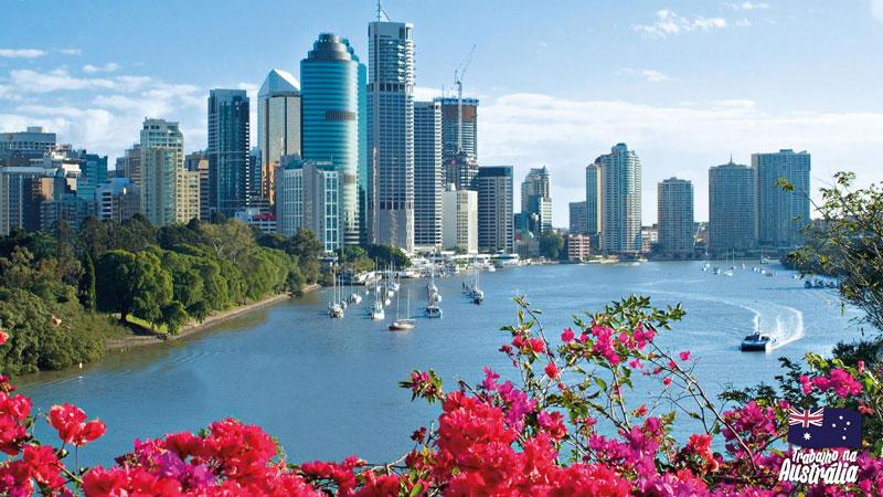 a melhor cidade da austrália para fazer intercâmbio - Brisbane