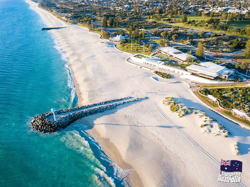 a melhor cidade da austrália para fazer intercâmbio - Perth