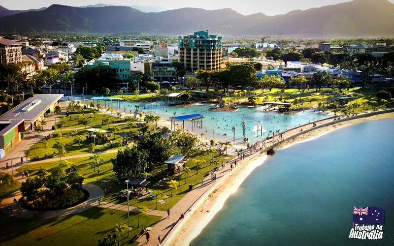 a melhor cidade da austrália para fazer intercâmbio - Cairns