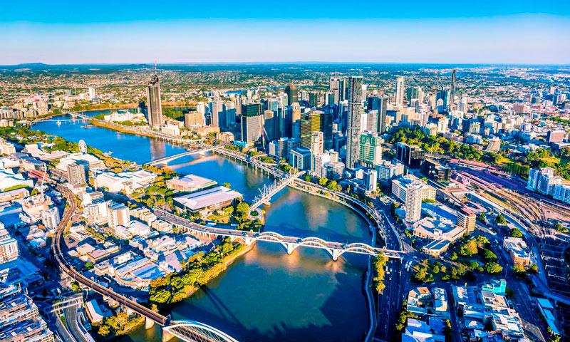 estudar e trabalhar na austrália - brisbane