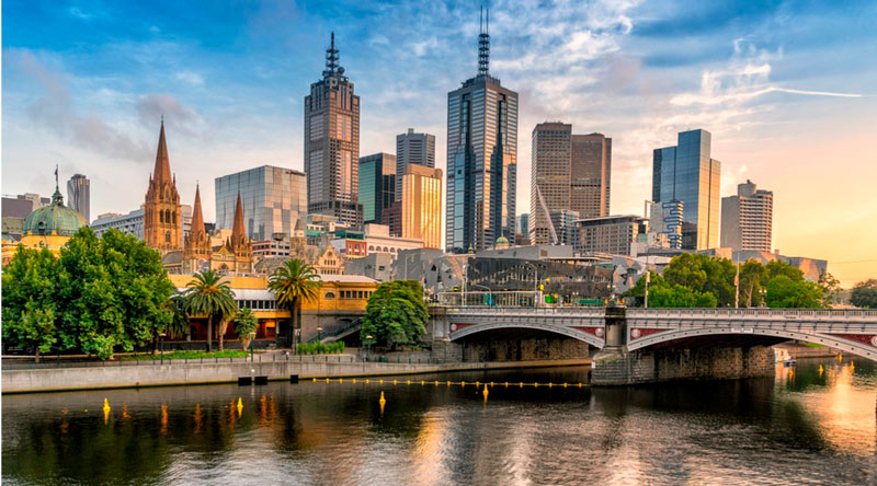 estudar e trabalhar na austrália - melbourne