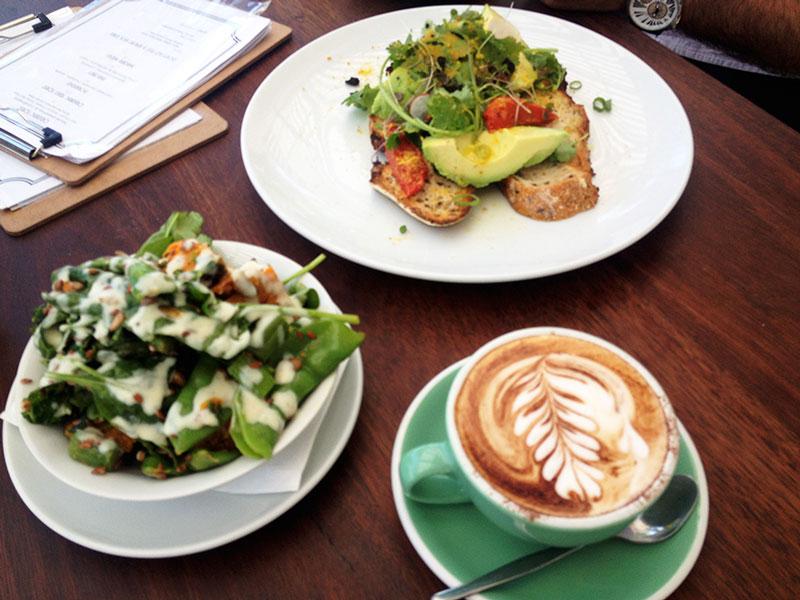 como é viver na austrália - café da manhã