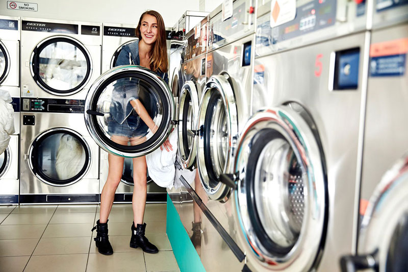 como é viver na austrália - lavanderia