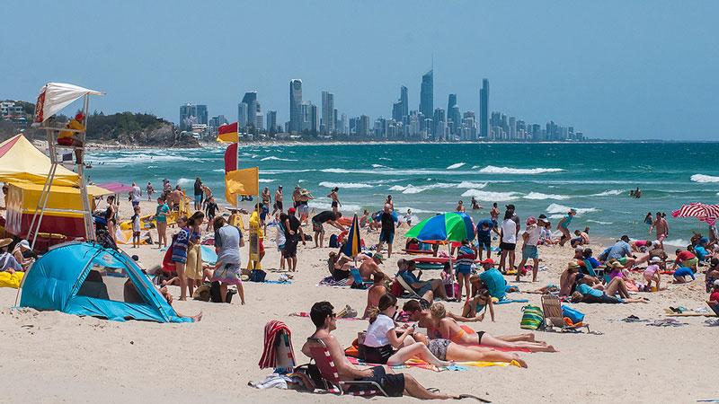 turismo na Austrália: Gold Coast