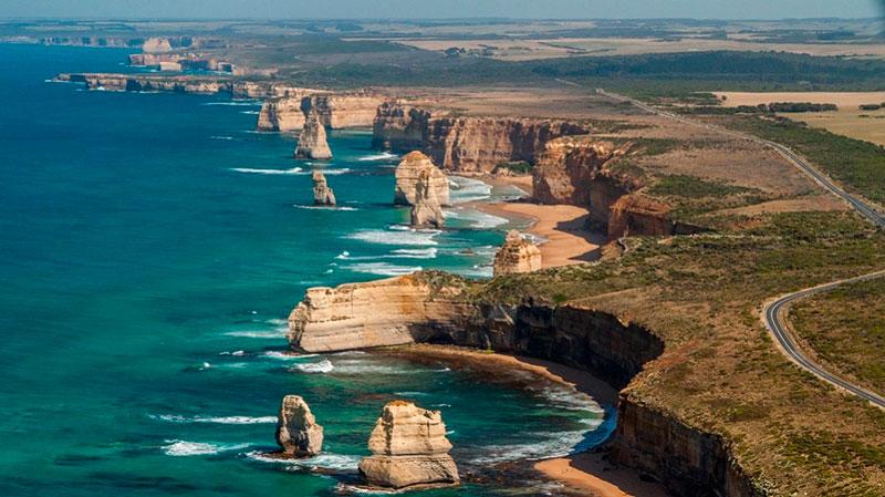 os melhores passeios para fazer na Austrália: Great Ocean Road