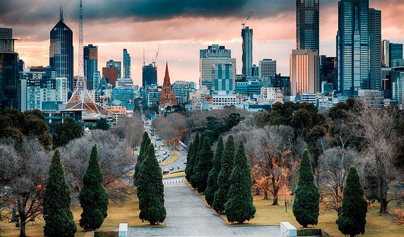 turismo na Austrália: melbourne