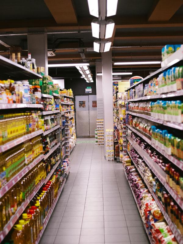 alimentos na mala - alimentos não perecíveis