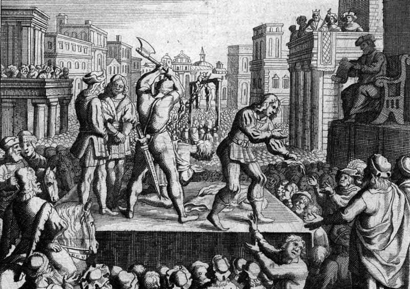 curiosidades sobre o reino unido - ilustração execução