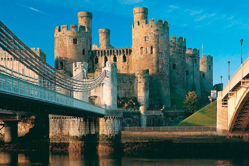 curiosidades sobre o reino unido - castelo País de Gales