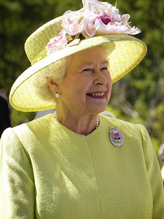 curiosidades sobre o reino unido - Rainha