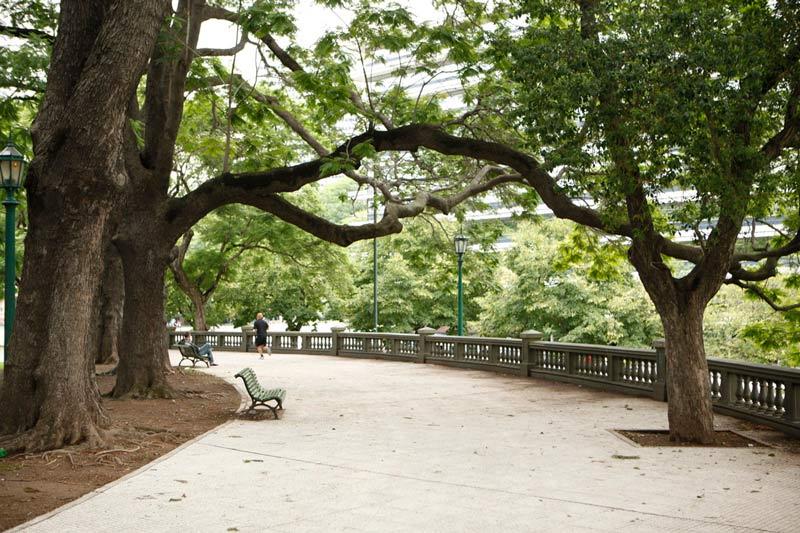 lugares mais bonitos de buenos aires - plaza san martín