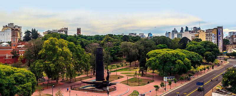 lugares mais bonitos de buenos aires - parque lezama