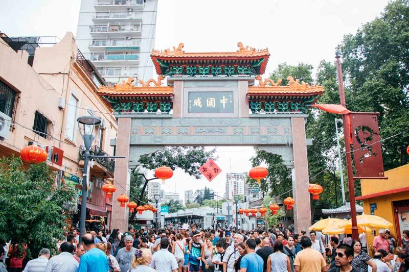 lugares mais bonitos de buenos aires - bairro chinês