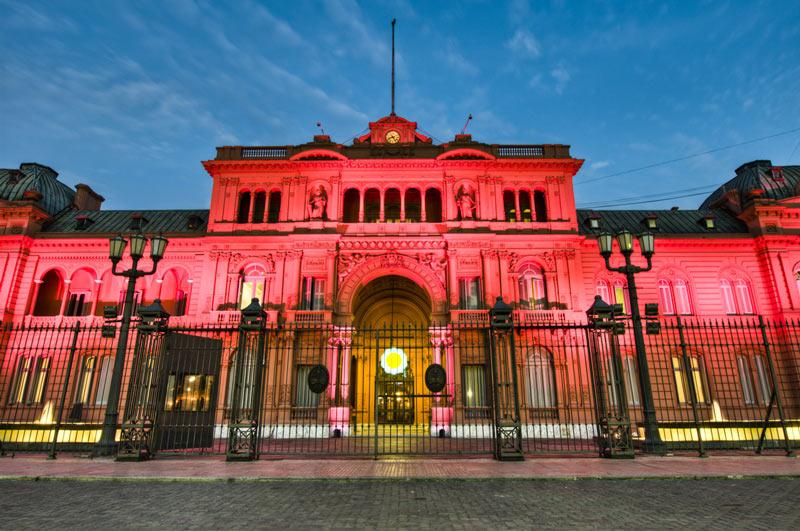 lugares mais bonitos de buenos aires - casa rosada