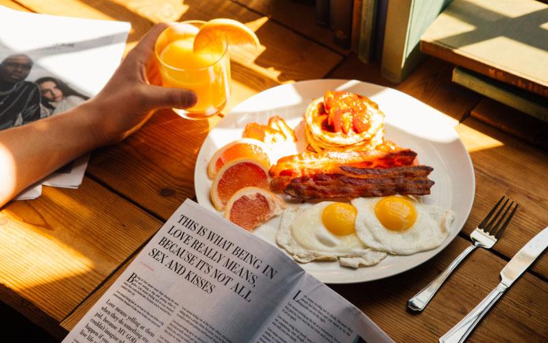 Cultura dos Estados Unidos - Café da manhã