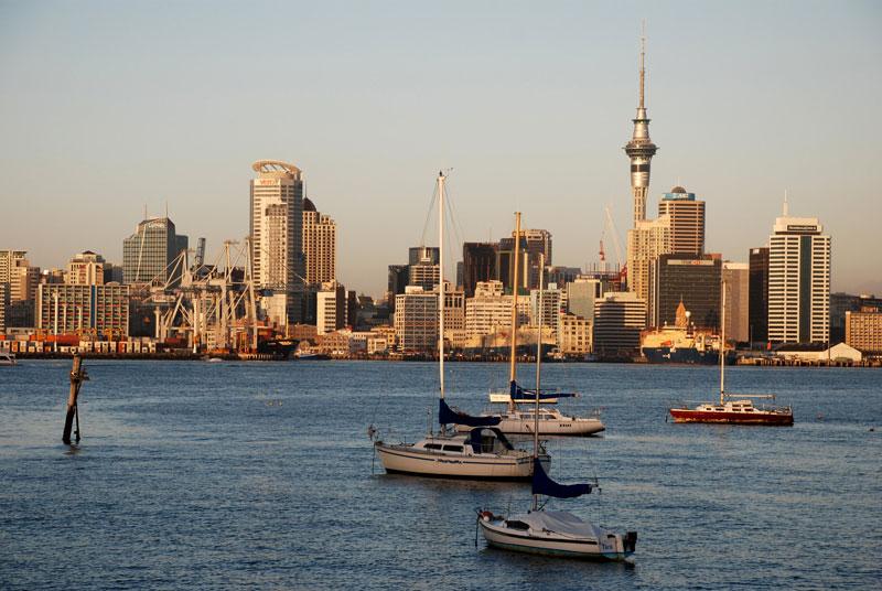 estudar e trabalhar na nova zelandia - auckland