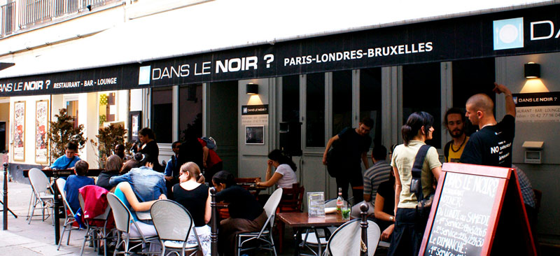restaurantes temáticos - Dans Le Noir