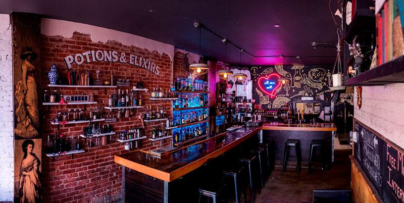 restaurantes temáticos - The Lockhart