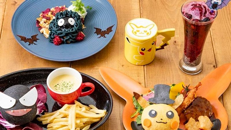 restaurantes temáticos - Pokémon Cafe