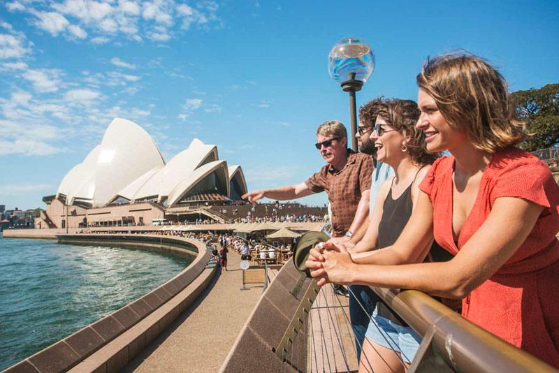 intercâmbio de trabalho e estudo no exterior - sydney