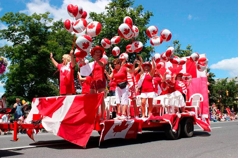 Canada Day - Paradas