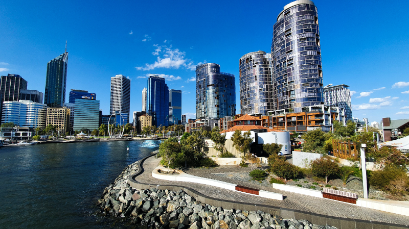 estudar e trabalhar na austrália - Perth