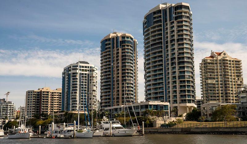 morar em Brisbane - apartamentos
