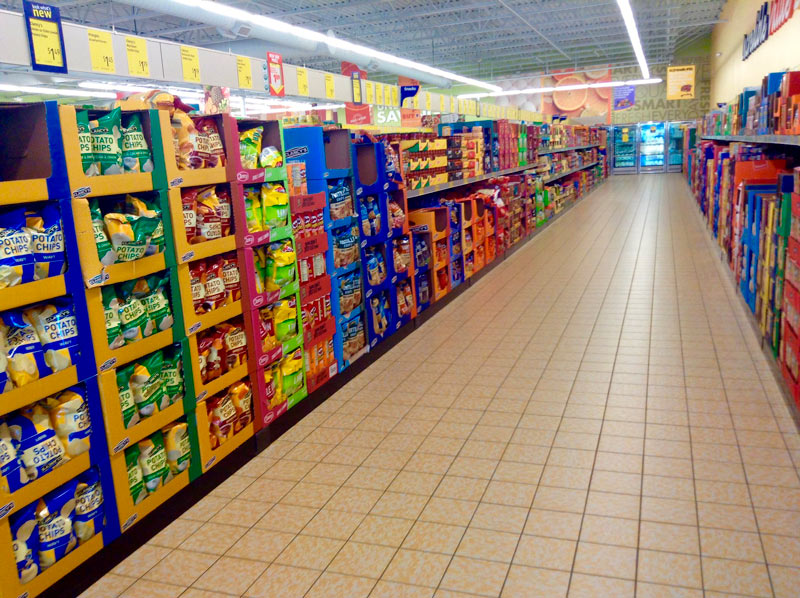 morar em Brisbane - Aldi Supermarket