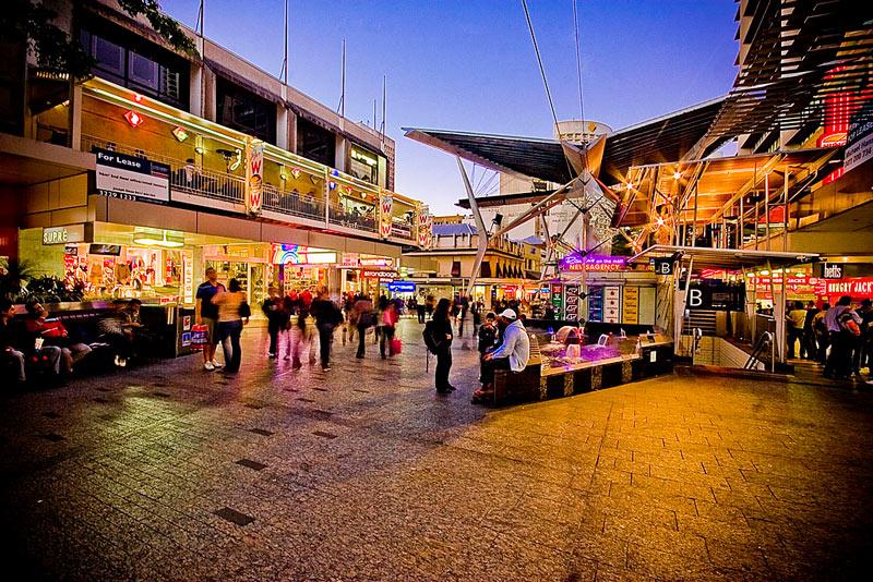 morar em Brisbane - Queen Street