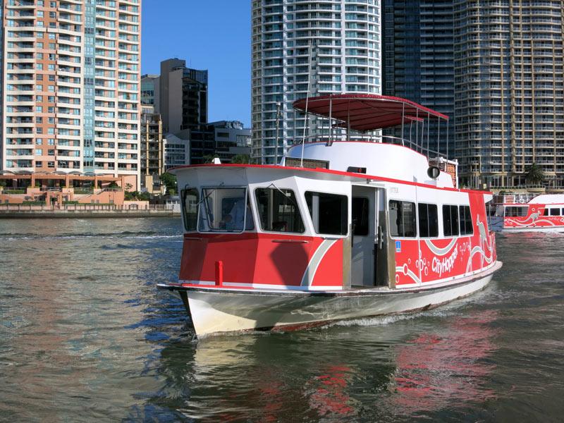 morar em Brisbane - Ferry