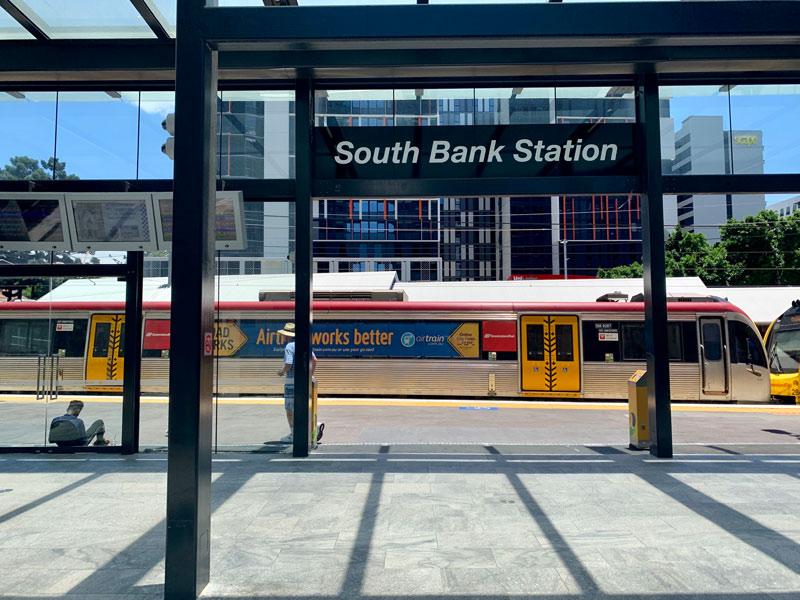 morar em Brisbane - Transporte Público