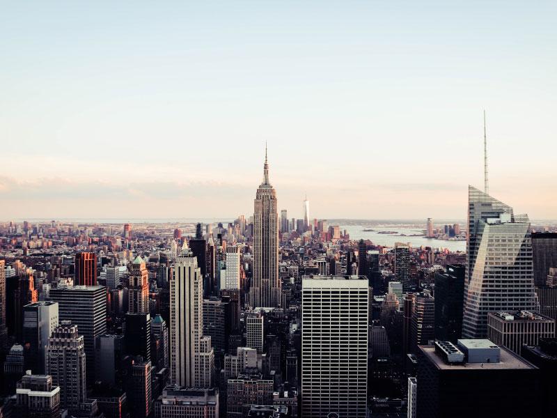 Viagens para os Estados Unidos saindo do Canadá - nova york skyline