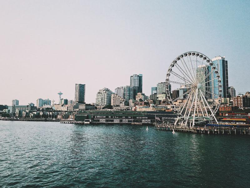 Viagens para os Estados Unidos saindo do Canadá - Seattle Roda-gigante