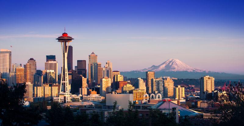Viagens para os Estados Unidos saindo do Canadá - Seattle