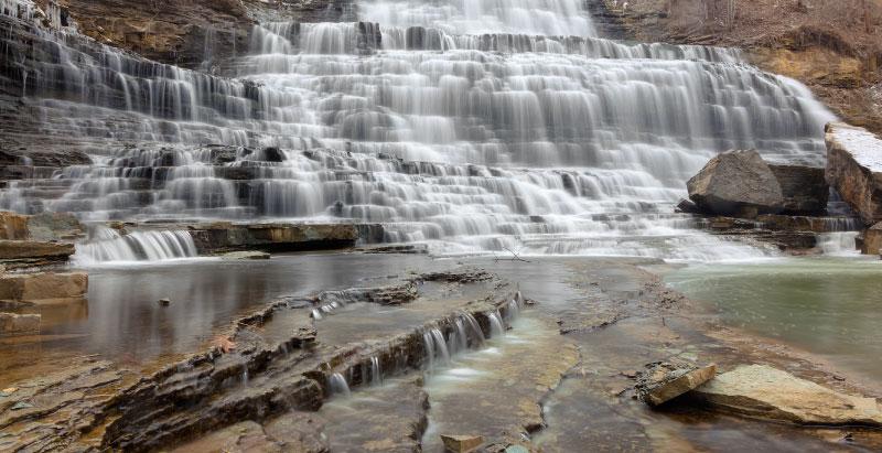 viagens saindo de Toronto - Albion Falls